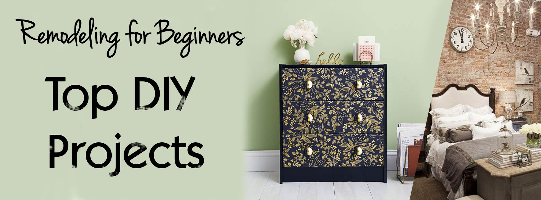 Residential remodeling for beginners: Top DIY projects that you should consider